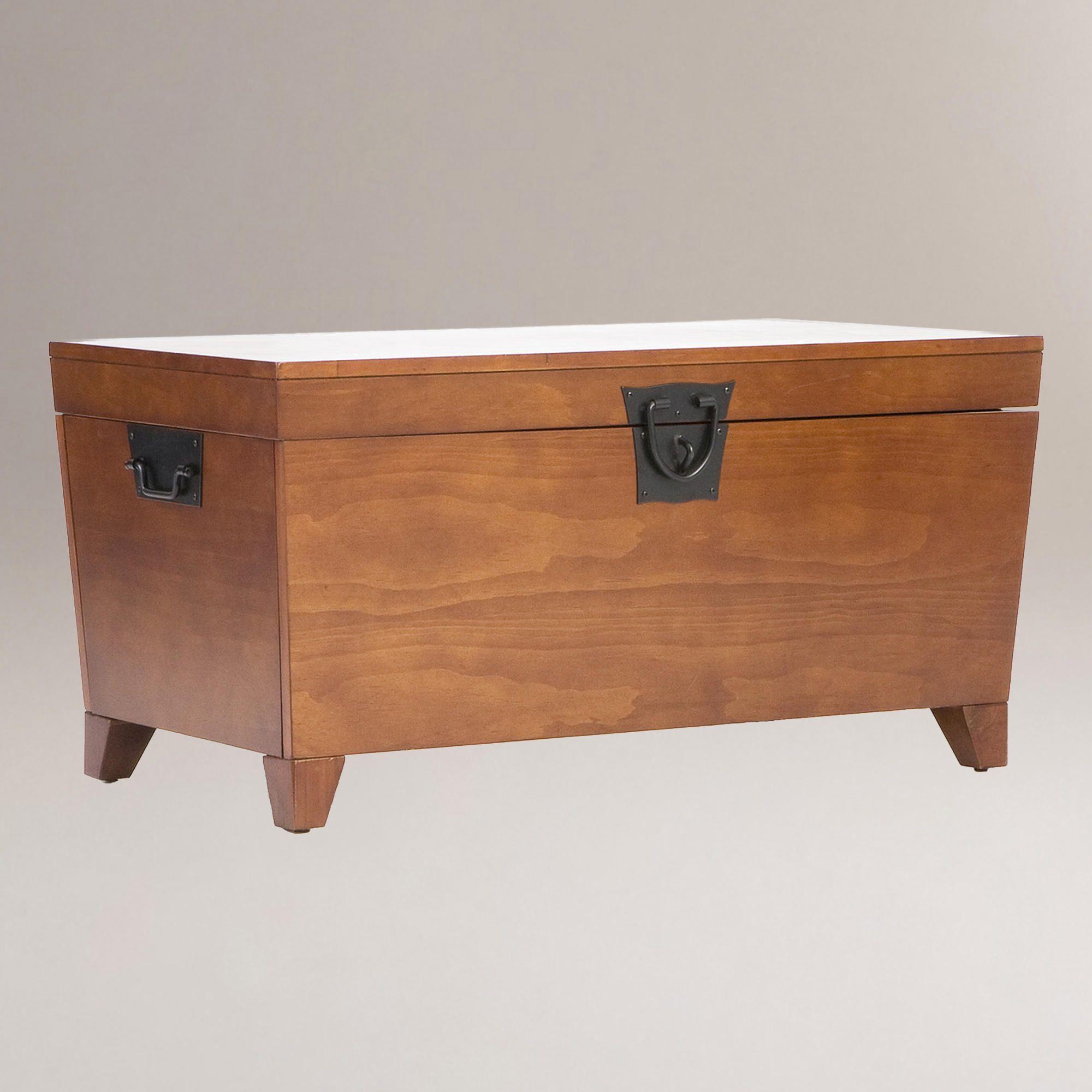Oak trunk coffee table oak trunk coffee table world market my oak trunk coffee table geotapseo Images