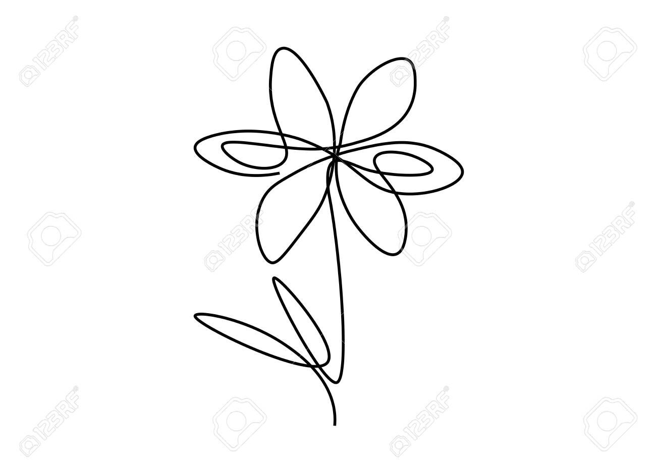 Spring flowers background with chamomile flower isolated on white vector illustration