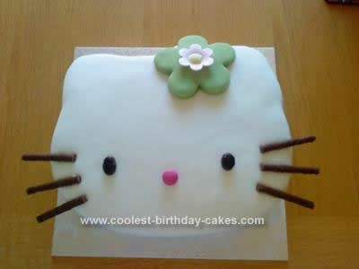 Coolest Hello Kitty Birthday Cake Design Hello kitty birthday