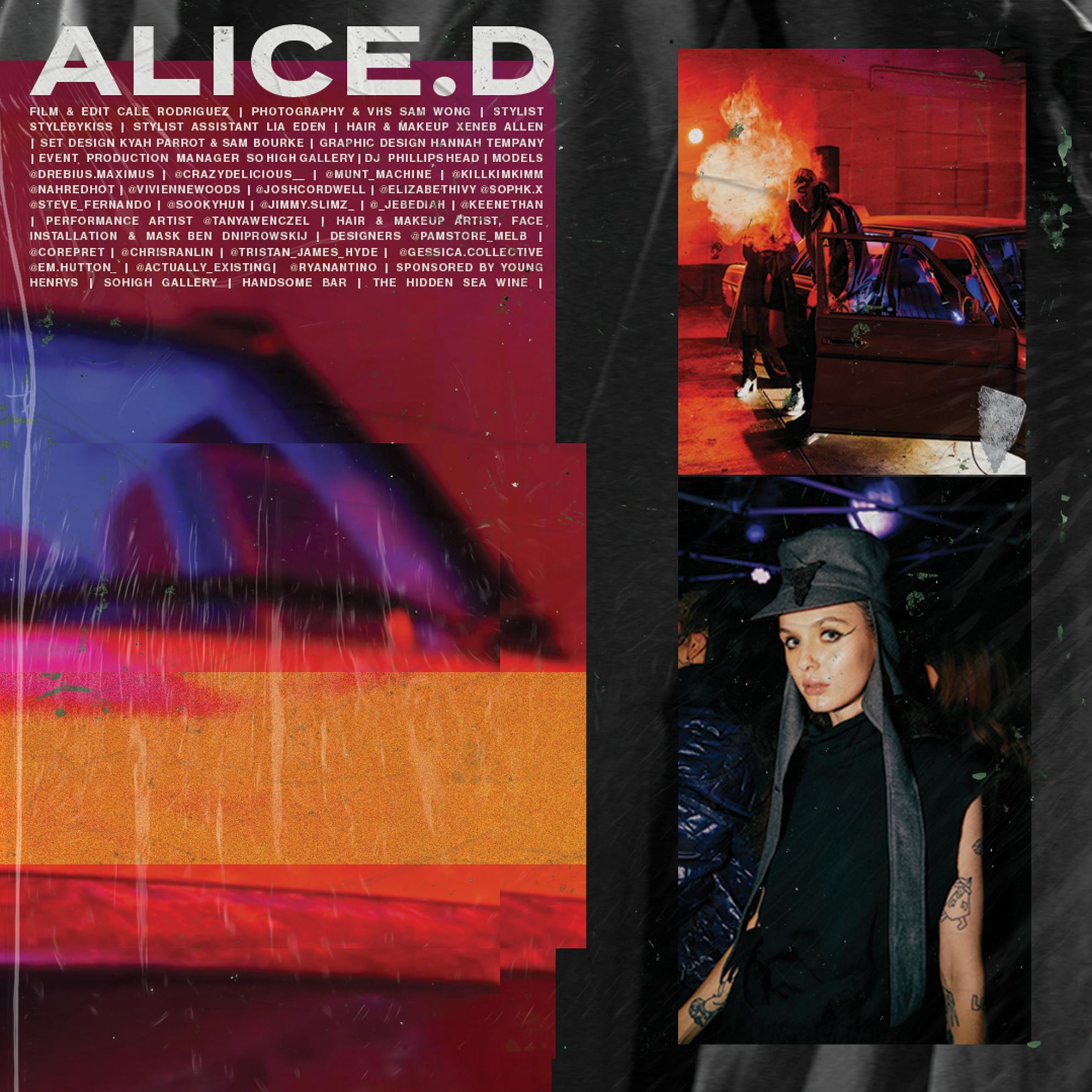 Alice D Magazine Performance Artist Eden Hair Pop Culture