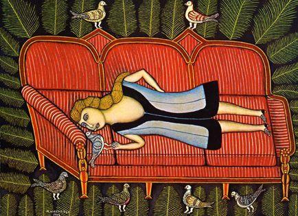 Morris Hirshfield at Galerie St. Etienne