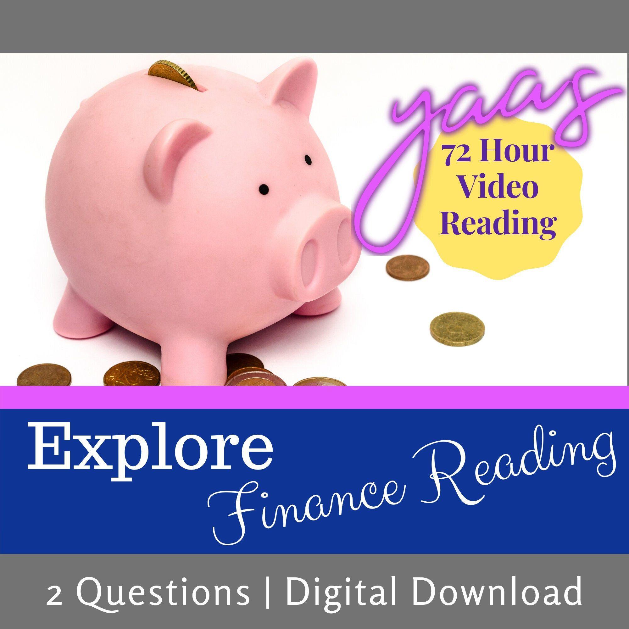Finance video tarot reading 72 hour tarot reading