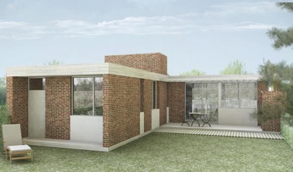 Los calicantos 2 dormitorios procrear programa cr dito for Modelos casas procrear 2016