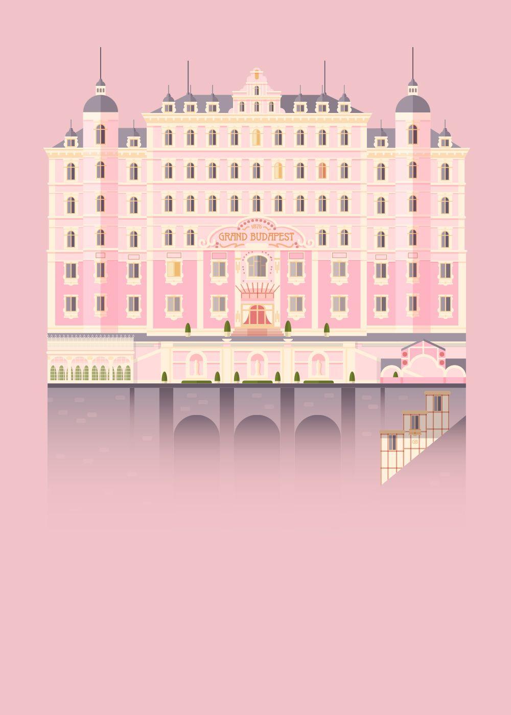 the grand budapest hotel lorena g illustration stuffs pinterest. Black Bedroom Furniture Sets. Home Design Ideas