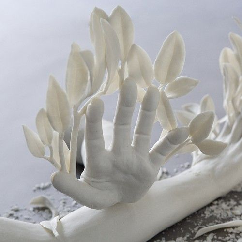"""daphne"" detail by Kate MacDowell"