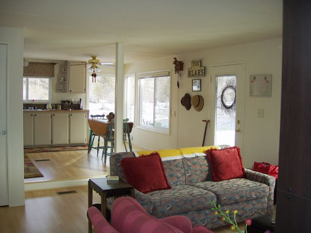 Beautiful Old Mobile Home Renovation Remodeling Mobile Homes Mobile Home Living Mobile Home