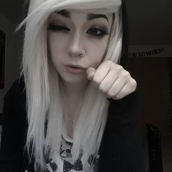Tabb Mnprincess Instagram Photos And Videos Liked On - Emo girl hairstyle video