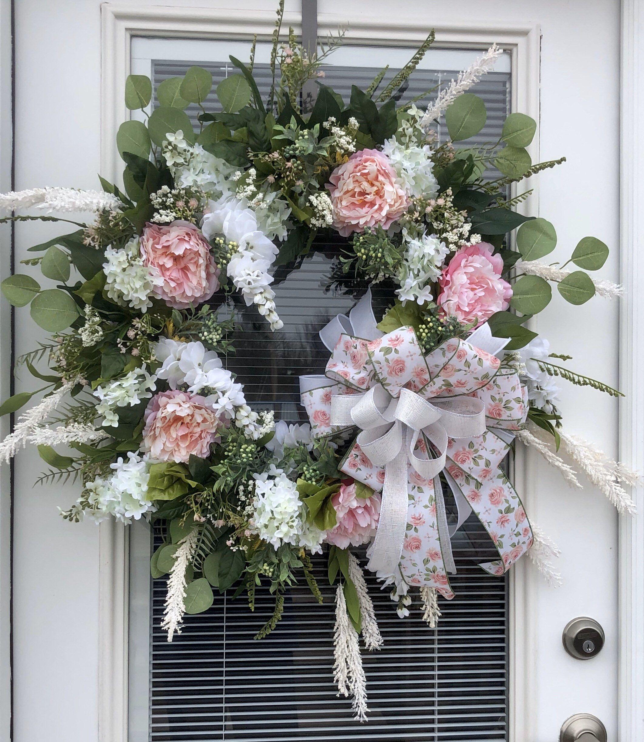 Photo of Peony wine wreath
