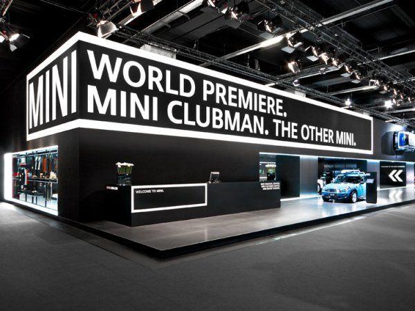 Elegant booth design Mini