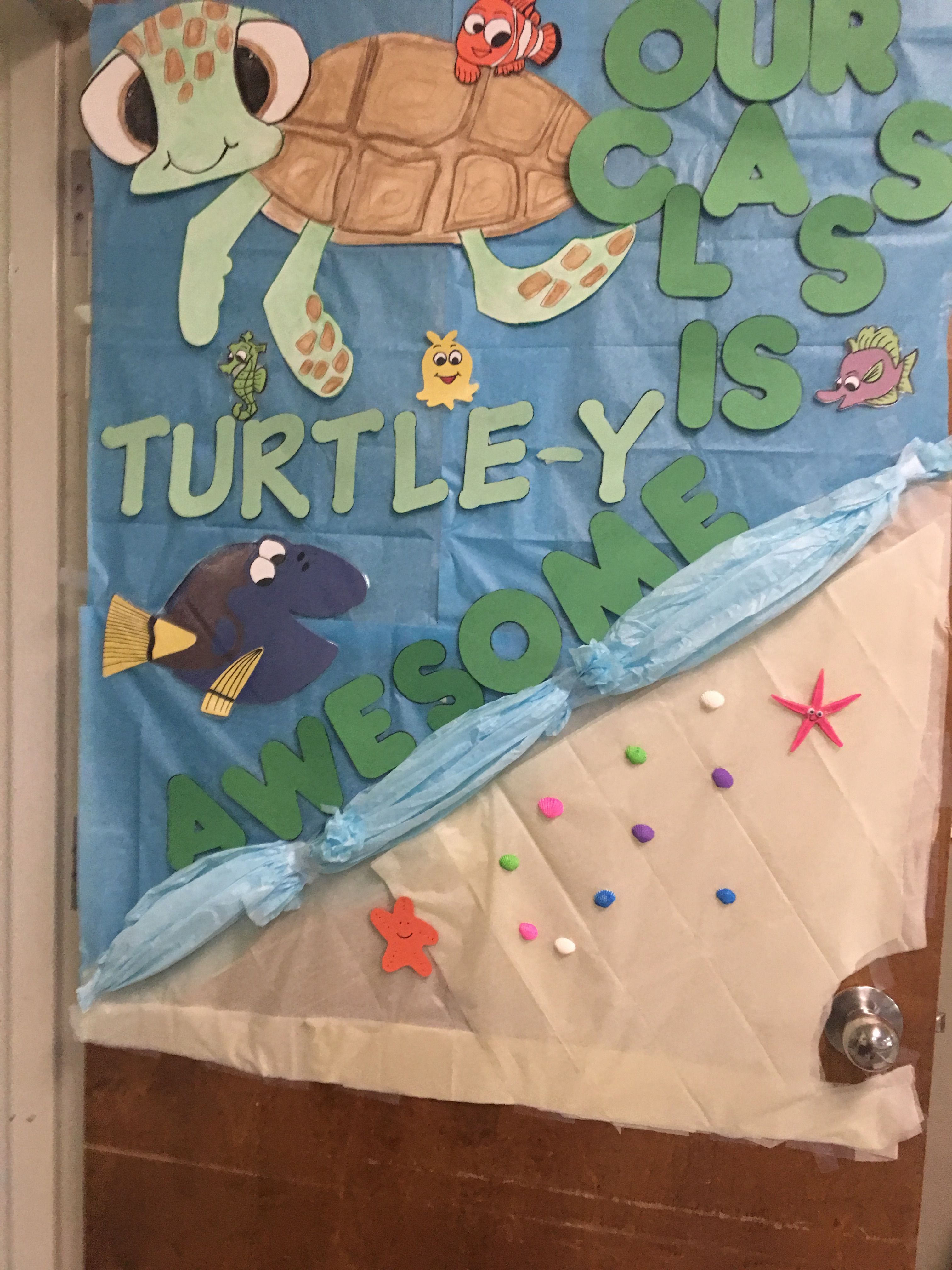 """Our class is """"turtle-y"""" awesome!"""