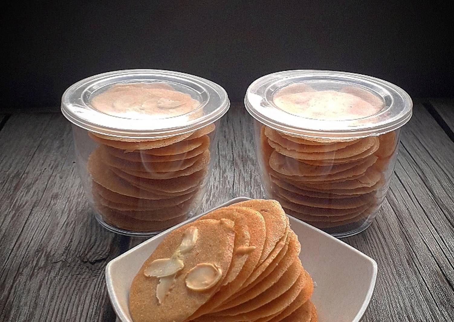 Resep Almond Crispy Oleh Endah Palupi Resep Makanan Resep Kue Kering