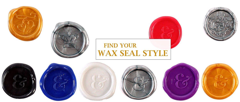 Wax Seals for Wedding Favors   Wedding Favors   Pinterest   Favors ...