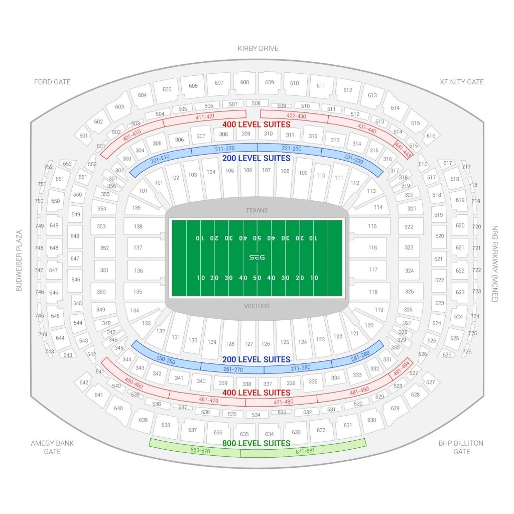 The Incredible As Well As Interesting Nrg Stadium Seating Chart Rodeo