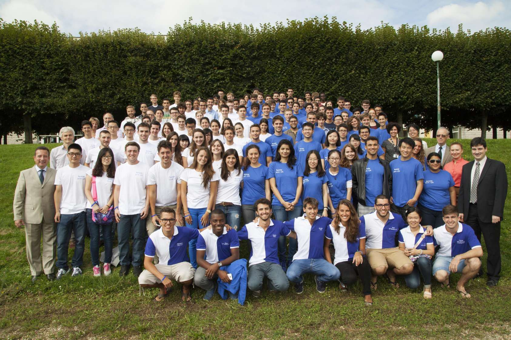 Official picture of the 2014/15 incoming students