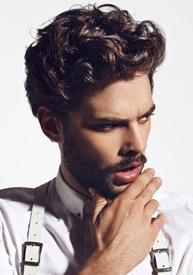 top 15 männer frisuren für lockiges haar!
