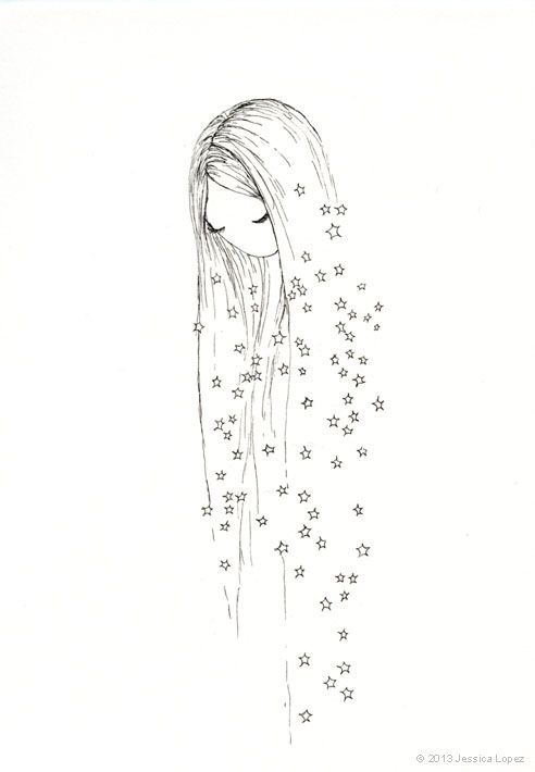 Falling Away By Jessica M Lopez Kresleni Pinterest Drawings