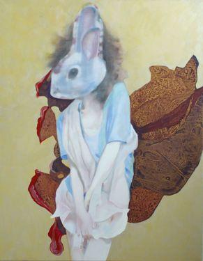 "Saatchi Art Artist Pirotte Nathalie; Painting, ""Virgo"" #art"