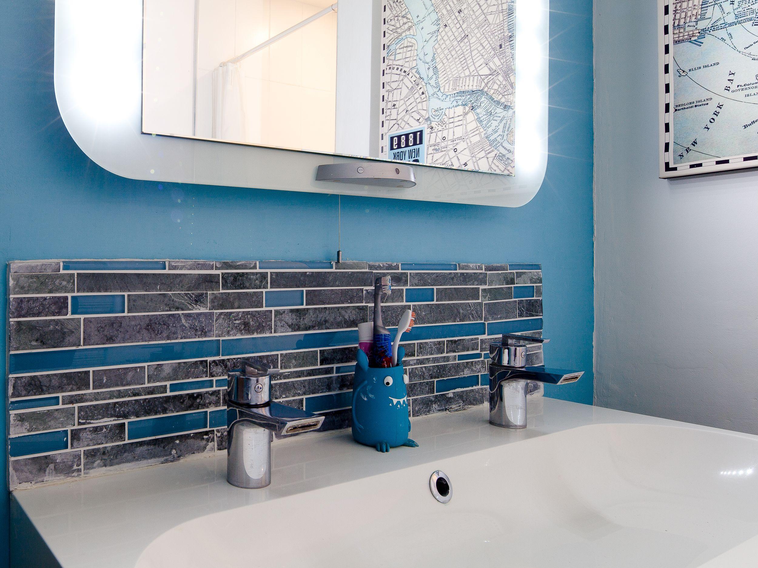salle de bains adolescent
