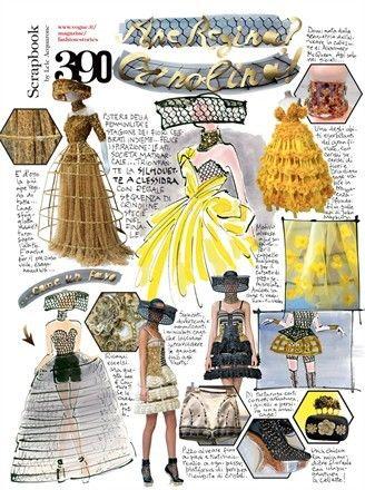 Photo of The queen bee? The crinoline!  – Vogue.it