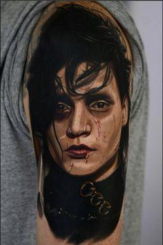 dcfdea034 edward scissorhands tattoo - Google Search | tattoos | Edward ...