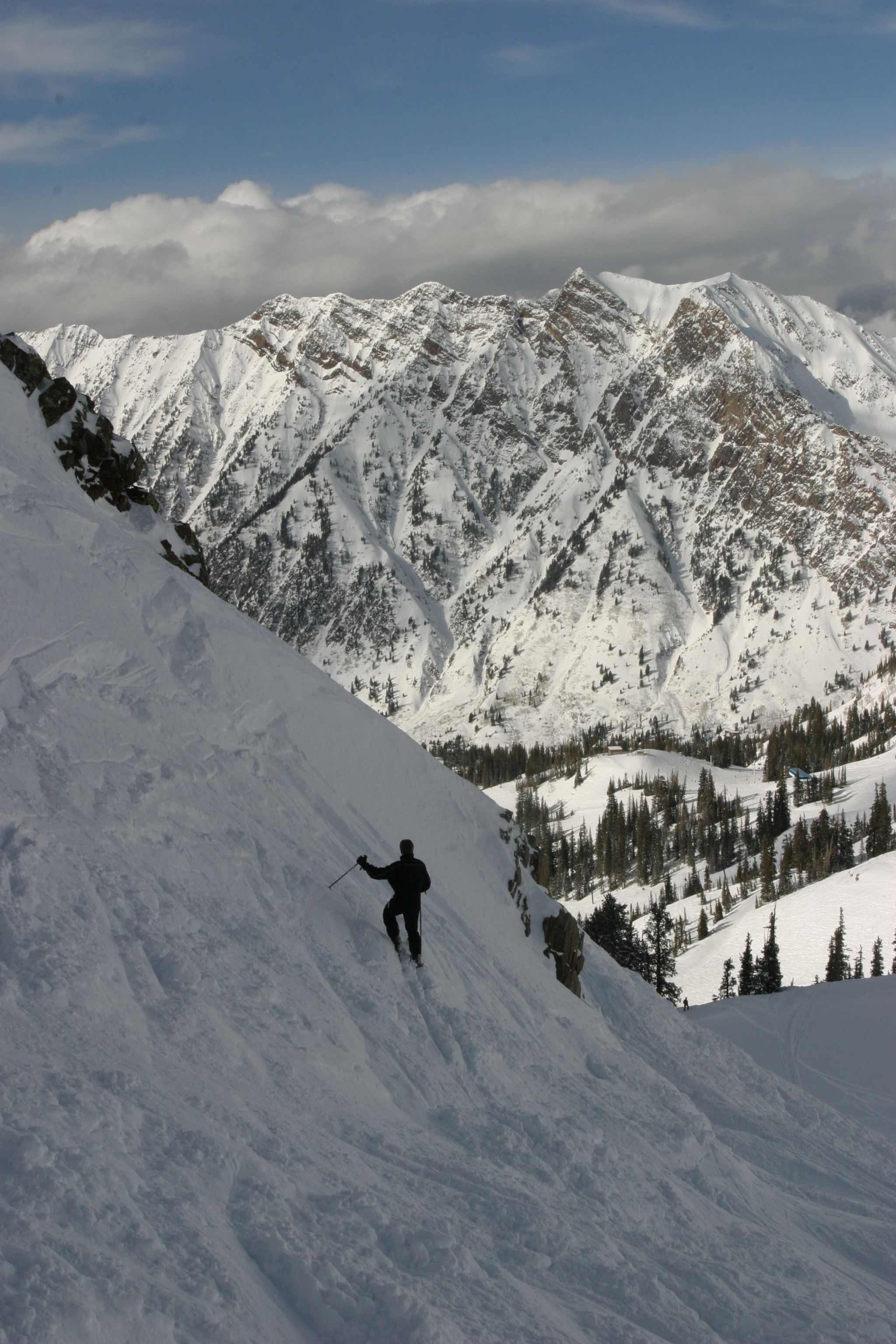 Backcountry Skiing In Utah S Wasatch Mountains Photo Taken By Edcutah S Own Jeff Edwards Mountain Photos Backcountry Skiing Scenic