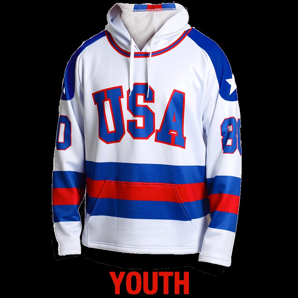 hockey jersey hoodie