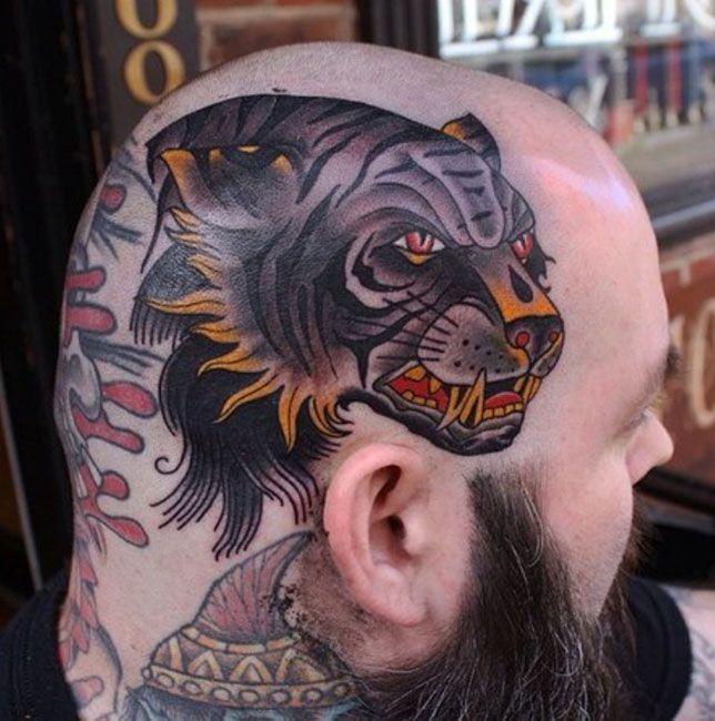 Pin De Mejores Tatuajes En Mejores Tatuajes En La Cabeza Pinterest