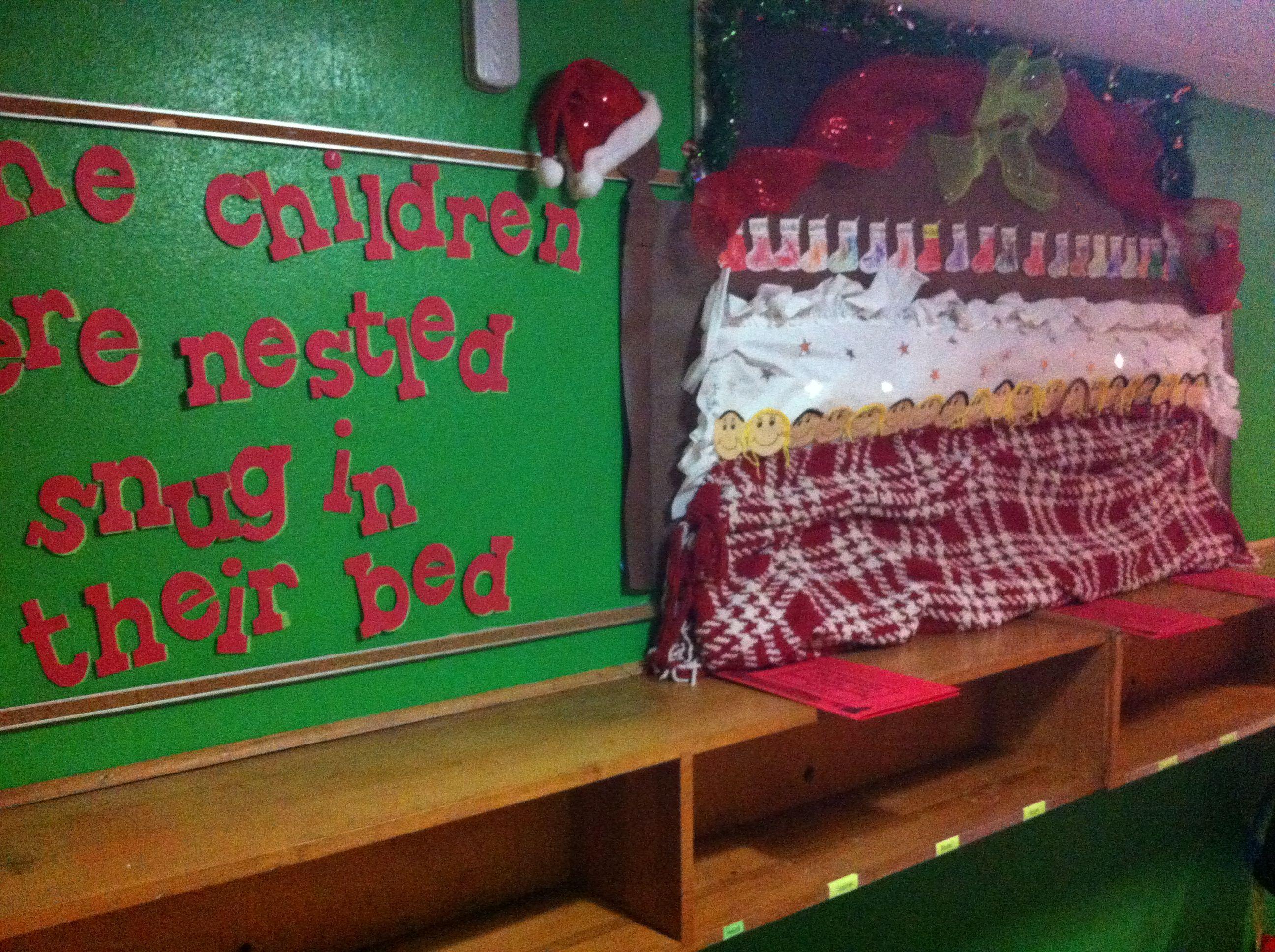 December E Children Were Nestled All Snug In Their Bed