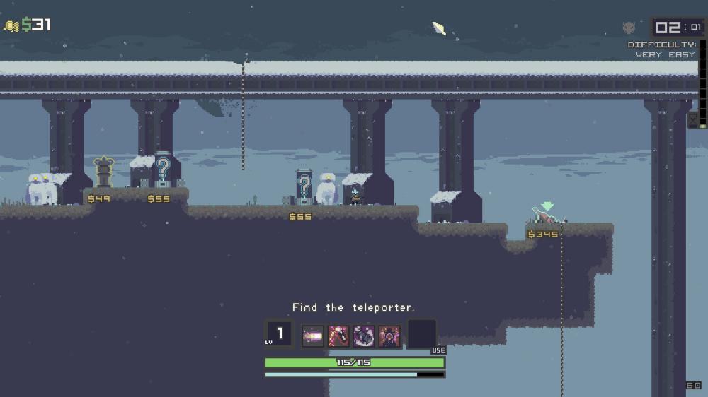 Risk of Rain Rain, Pixel art games, Game design
