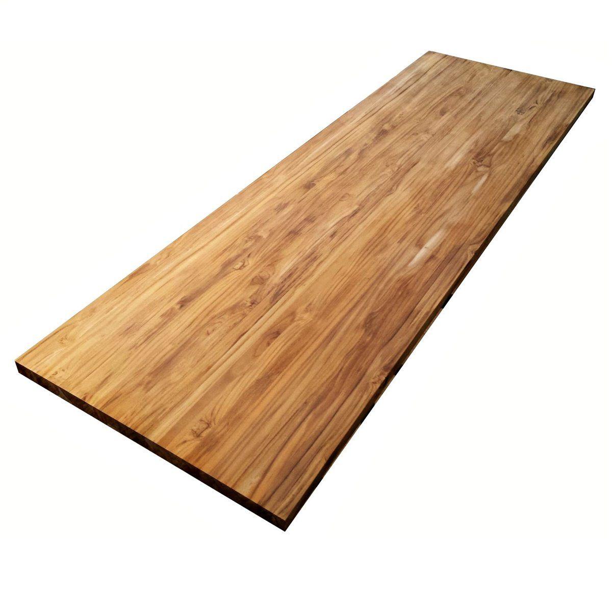 Holzplatte Aus Teak Und Mahagoni Massivholz Fsc 100 Teak Holz Teak Holz