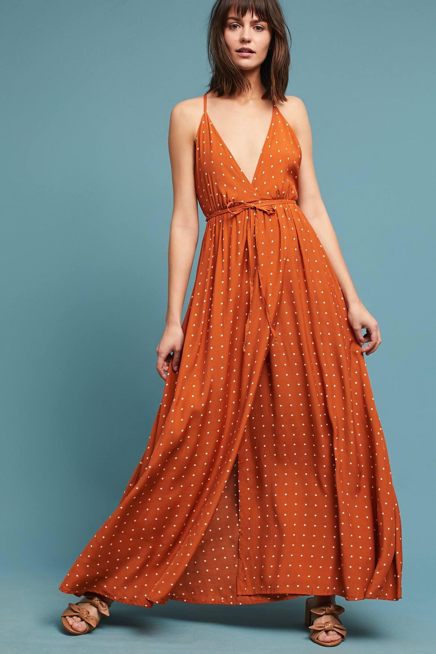 Faithfull Stefano Wrap Dress   Wrap dresses, Anthropologie and Wraps