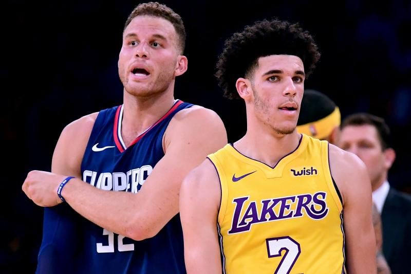Lonzo Ball Struggles In Nba Debut As Clippers Crush Lakers 108 92 With Images Cheap Sports Cars Sports Cars