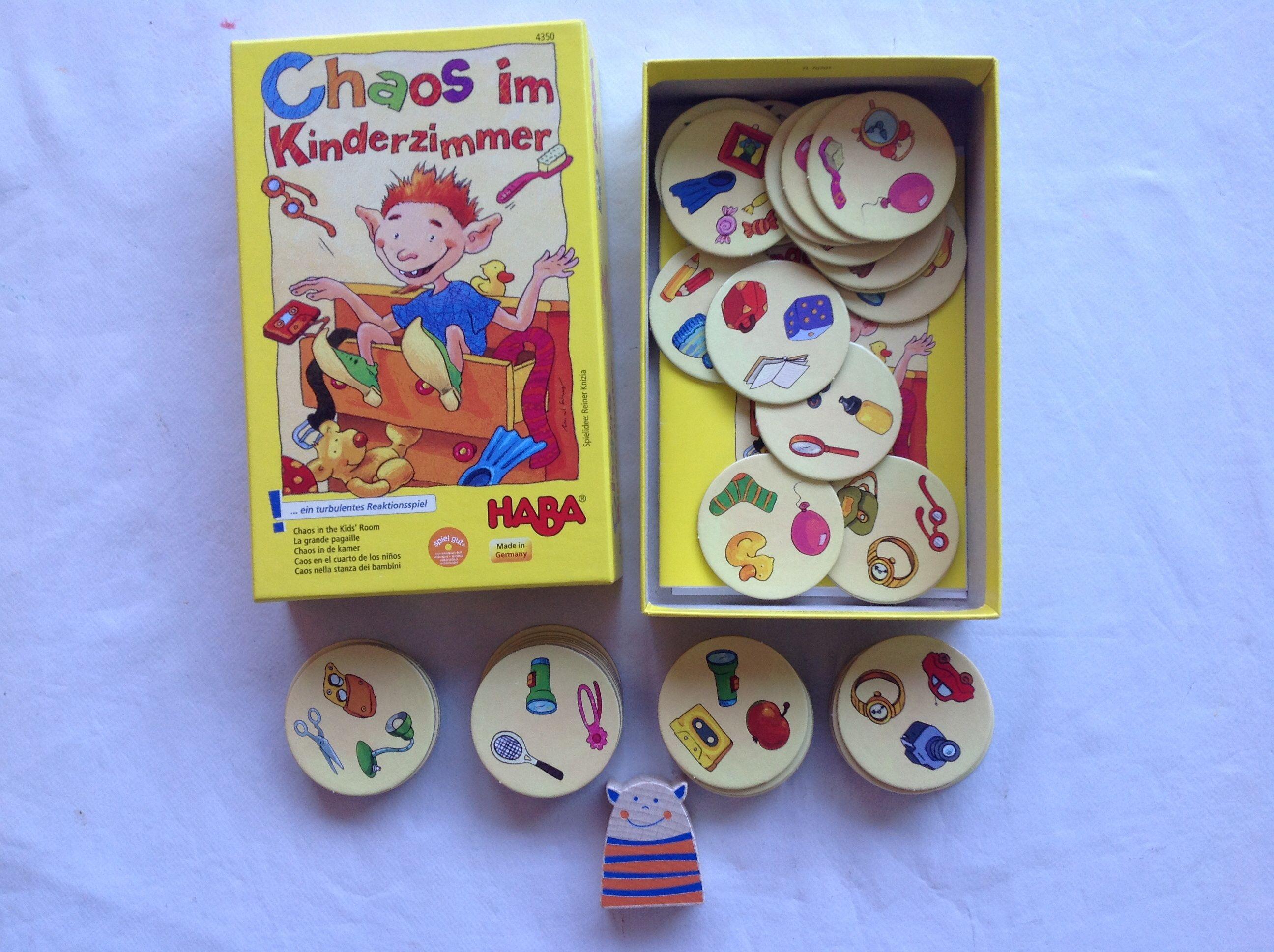 Caos en el cuarto de los niños