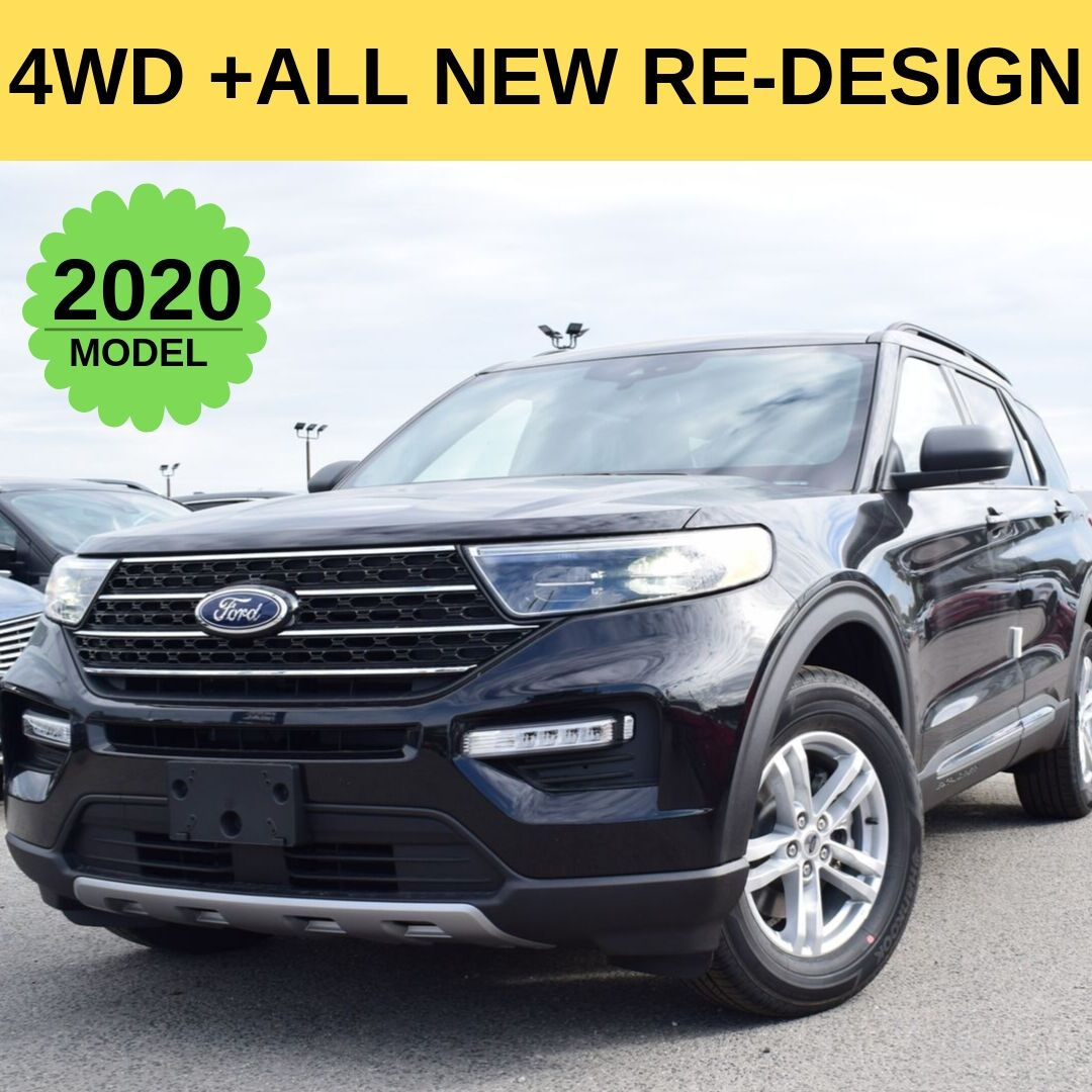 The All New Redesigned 2020 Ford Explore Xlt 4wd Has Arrived In Ecford Door Crasher Deals Le New Ford Explorer Ford Explorer Xlt 2020 Ford Explorer