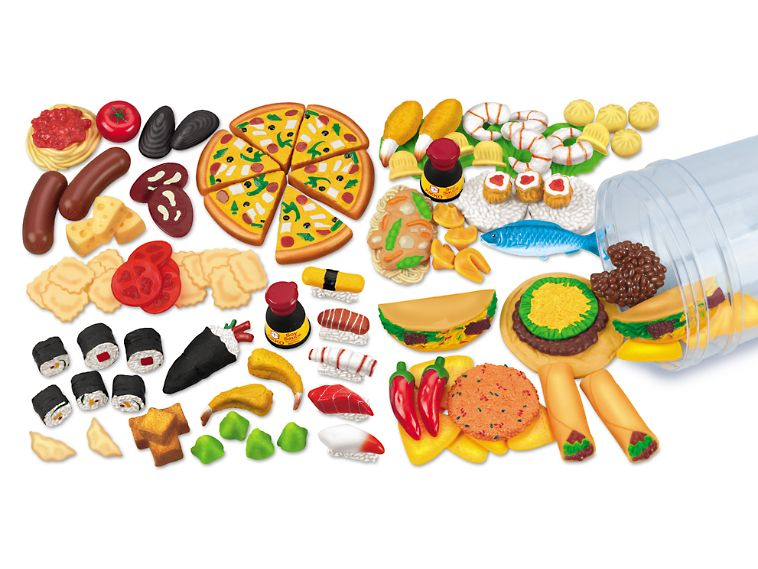 1 Sets  Pizzas 1:12 Dollhouse Miniatures Mini Simulations Foods For Doll Ga