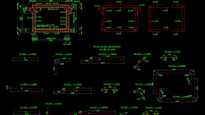 Box Culvert Reinforcement Details Free Drawing Culvert Bridge Design Reinforcement