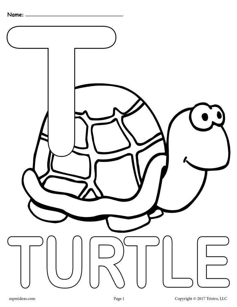 Letter T Alphabet Coloring Pages 3 Printable Versions Abc Coloring Pages Alphabet Coloring Pages Alphabet Coloring