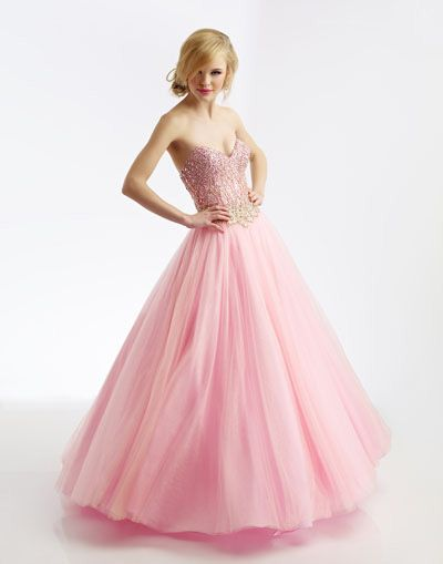 Riva Designs R9716 prom dress available in Pink Gold; White Gold ...