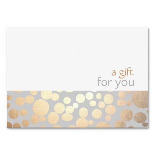 Salon and spa gold and grey gift certificate card templates salon and spa gold and gray gift certificate yelopaper Images
