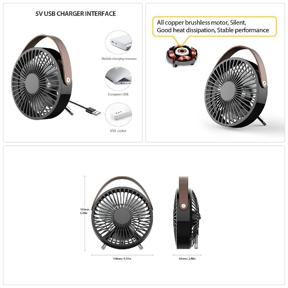 Mini Usb Fan Mini Desk Fan Small Personal Usb Fan Table Fan