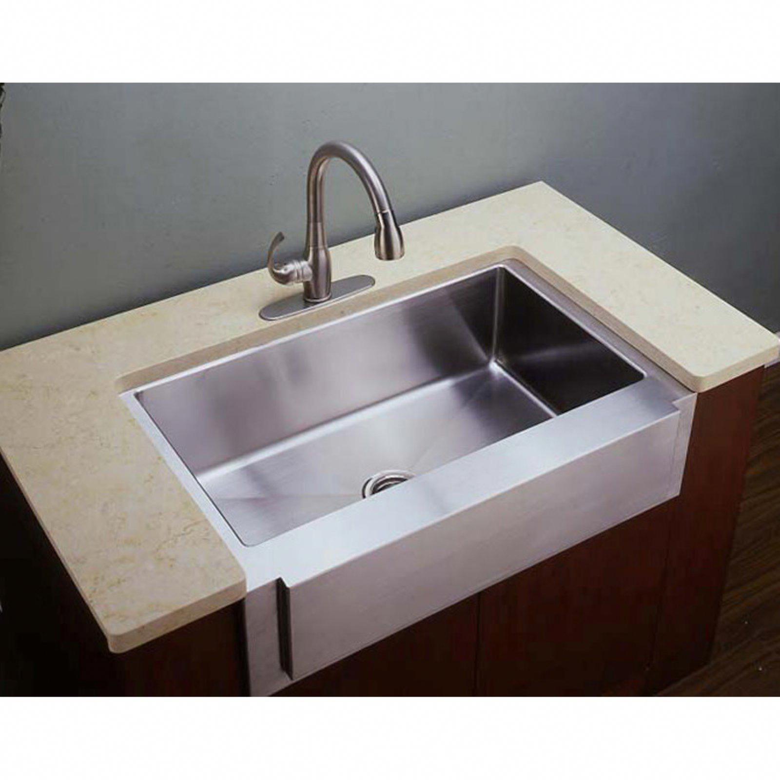 37+ Single bowl apron sink ideas