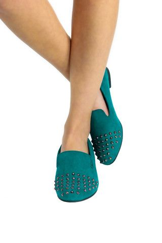Jo-Jo 06 Breckelle's Studded Flats - uoionline.com: Women's Clothing Boutique