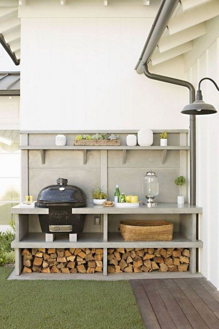 55 Fantastic Outdoor Kitchens Ideas On A Budget   Outdoor ...