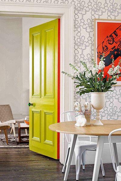 Peinture  je transforme mes portes en éléments déco decos maison