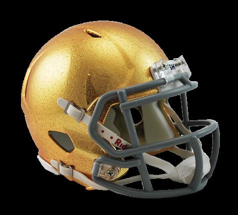 Notre Dame Hydrofx Riddell Speed Mini Helmet Helmet Sportscrack Football Helmets Notre Dame Fighting Irish Mini Football Helmet