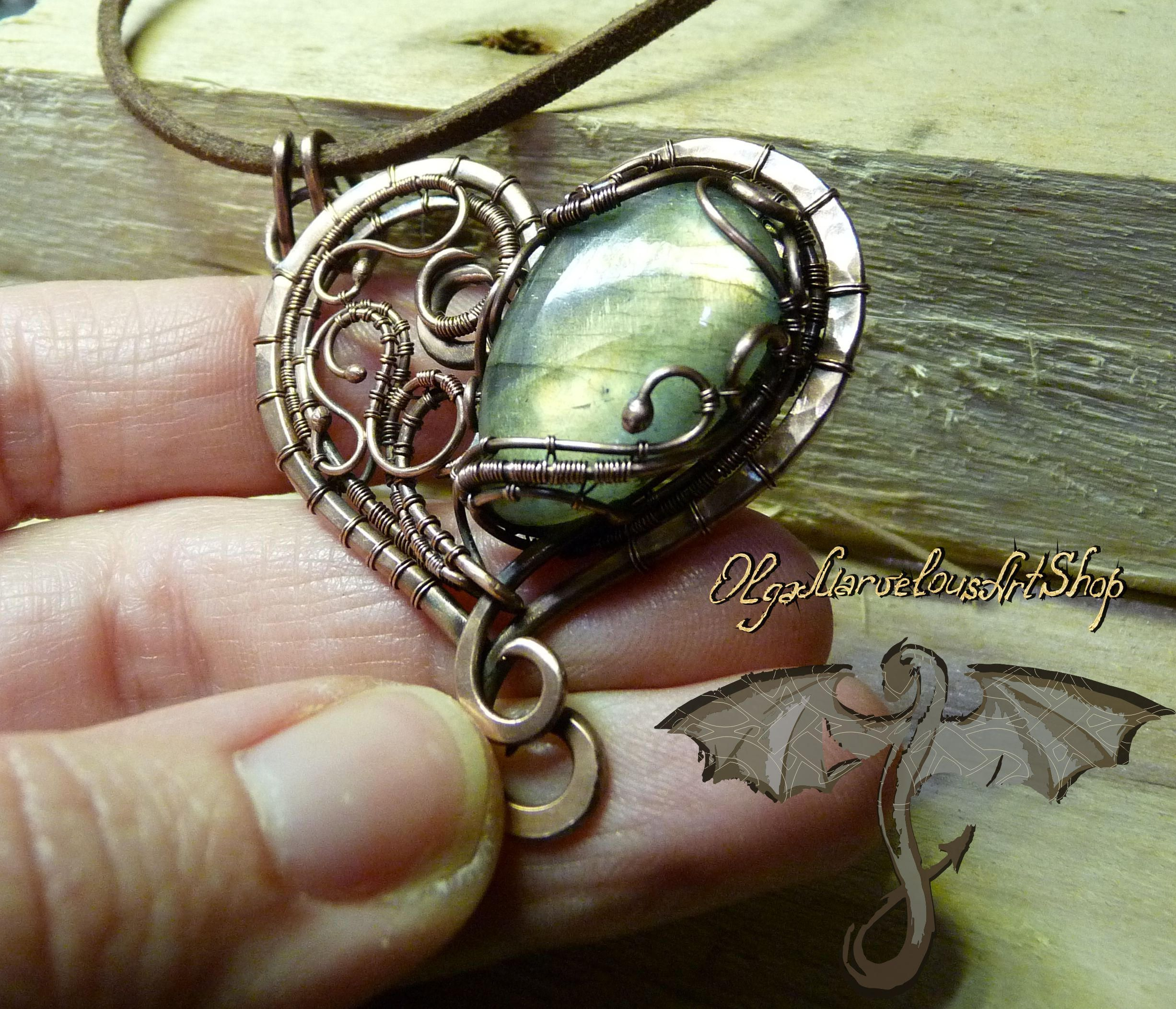 on il wrapped moonlight listing life fullxfull of copper tree jasper pendant zoom wire