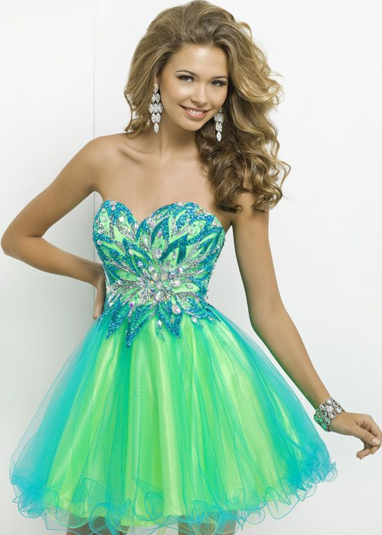 Bud Green Homecoming Dress,Sparkle | Colour, Short prom dresses ...