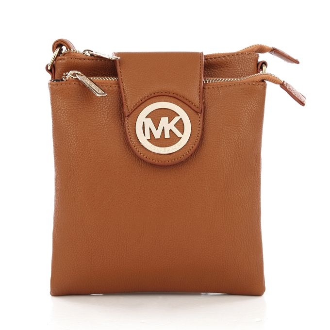 6efd486391c24d Michael Kors Outlet !Michael Kors Fulton Pebbled Large Brown Crossbody Bags.#Fashion  #Michael Kors #Michael Kors Handbags. I love it. $65.99