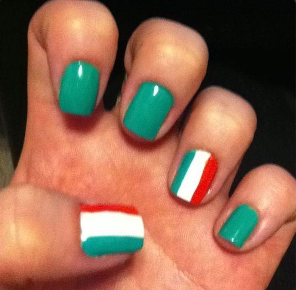 Deja que el patriotismo decore tus uñas. Inspírate en estos diseños ...