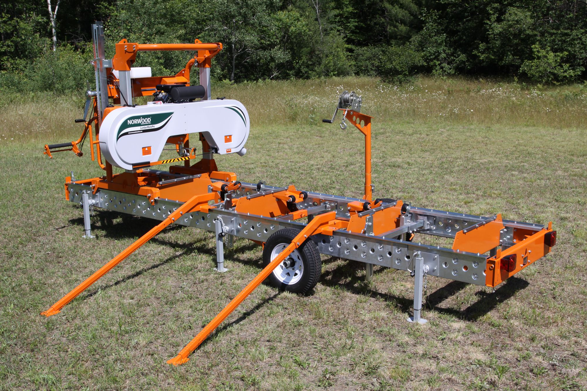 woodland mills hm126 portable sawmill promotional video the